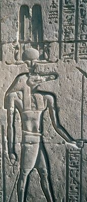 """Egypt.Sobek.01"". Lizenziert unter CC BY-SA 3.0 über Wikimedia Commons - https://commons.wikimedia.org/wiki/File:Egypt.Sobek.01.jpg#/media/File:Egypt.Sobek.01.jpg"